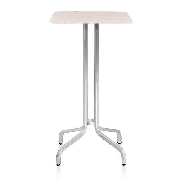 1 Inch Bar Table Square, Wood Top