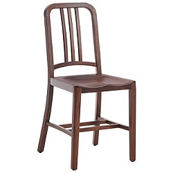 111 Navy Wood Chair