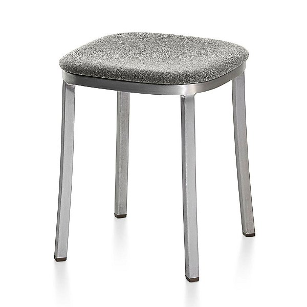 1 Inch Small Stool, Upholstered