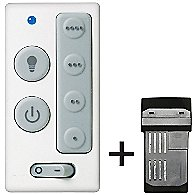 Four-Speed Wall Control with Receiver