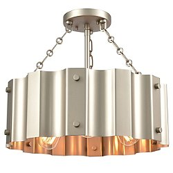Rino Semi-Flush Mount Ceiling Light