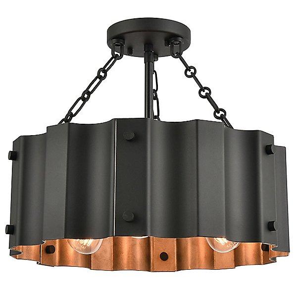 Rino Semi-Flush Mount Ceiling Light