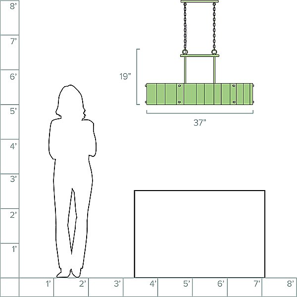 Rino Linear Suspension Light