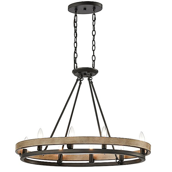 Lily Oval Chandelier