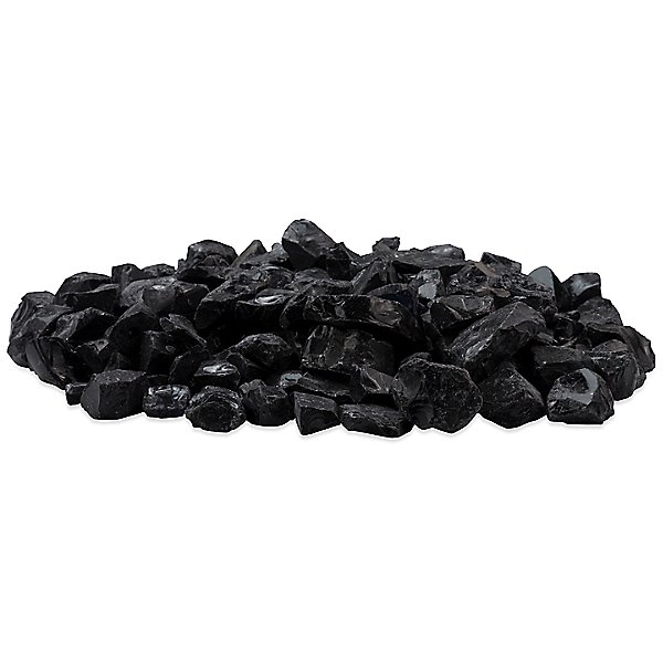 Black Glass Charcoal Accessory