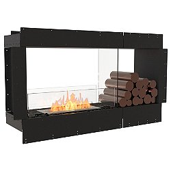 Flex Firebox - Double Sided with Decorative Sides