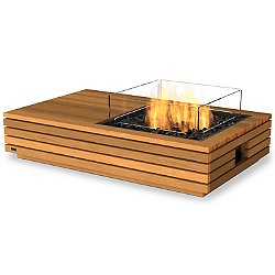 Manhattan 50 Teak Fire Table