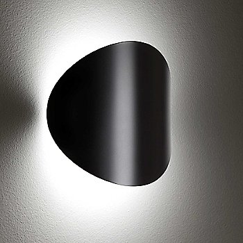 Black finish, illuminated