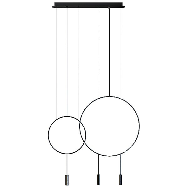 Revolta LED L73.1S1D Linear Suspension Light