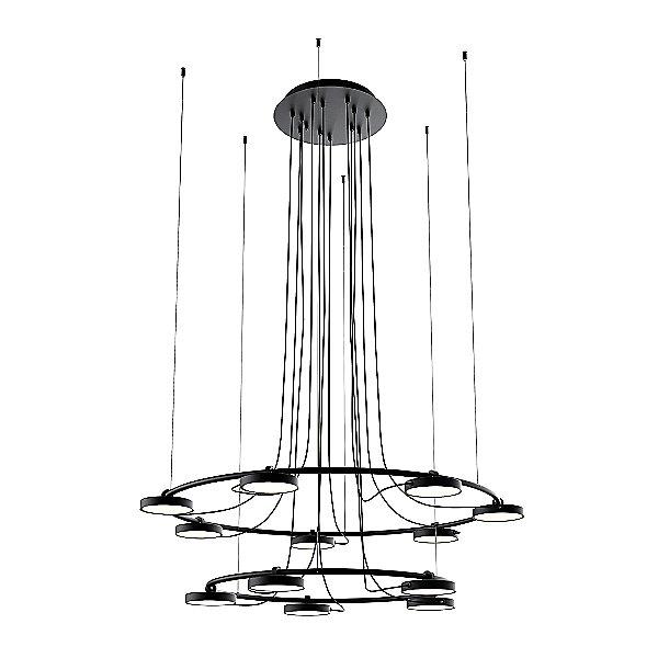 Aro 2-Tier LED Chandelier