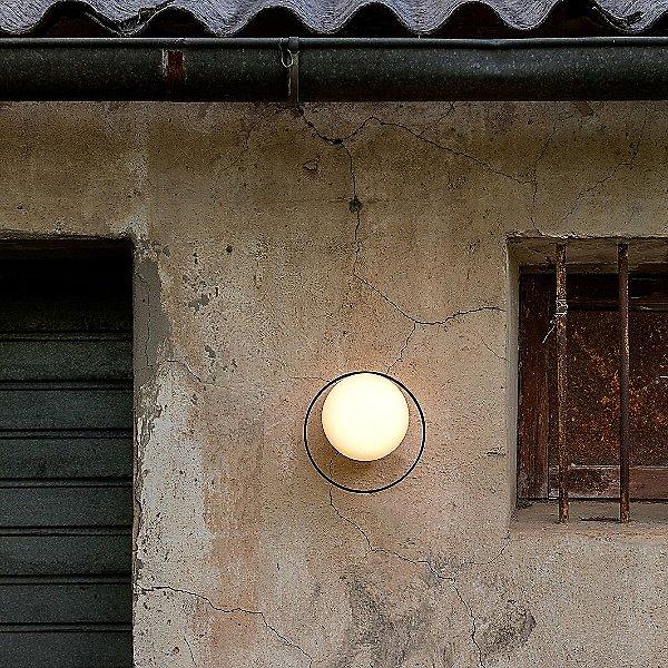 Circ Globe LED Outdoor Wall Light
