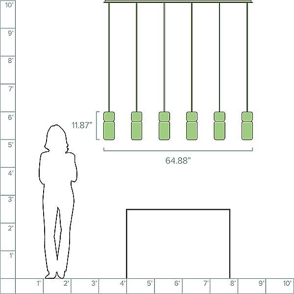 Pila LED Linear Suspension Light