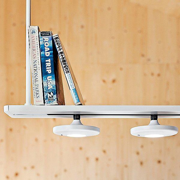 Button LED Linear Suspension Light