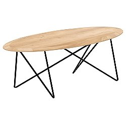 Oak Orb Coffee Table