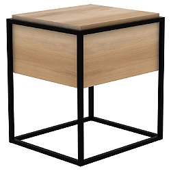 Oak Monolit Bedside Table
