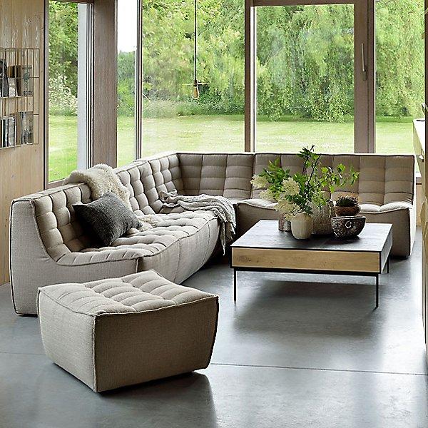 N701 Sofa Ottoman