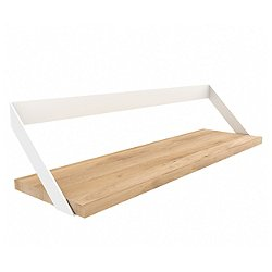 Oak Ribbon Shelf by Ethnicraft (White) - OPEN BOX RETURN