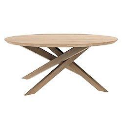 Oak Mikado Round Coffee Table