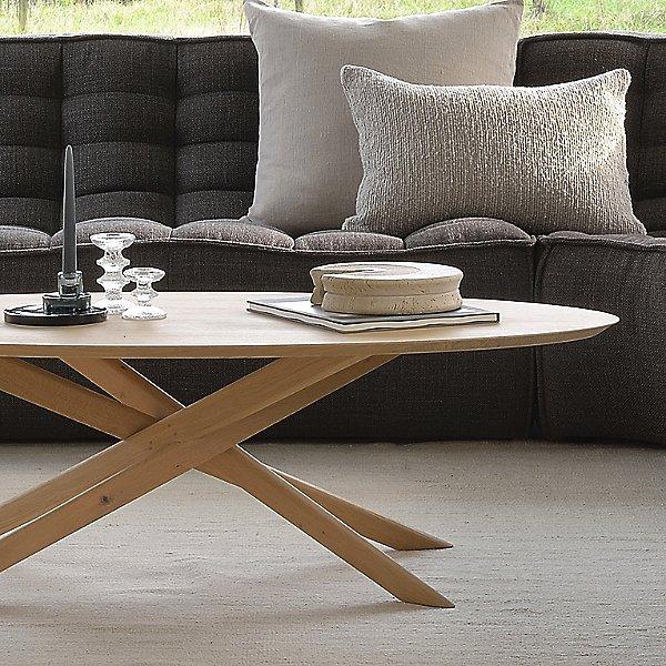 Oak Mikado Oval Coffee Table