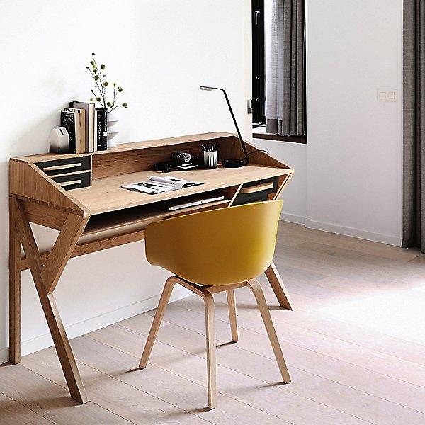Oak Origami Desk