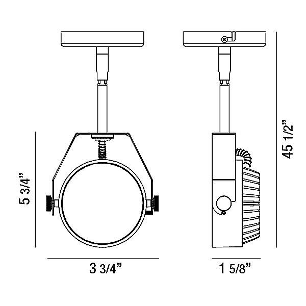 Leonida LED Mini Pendant Light