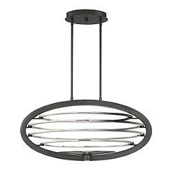 Davinci LED Oval Chandelier