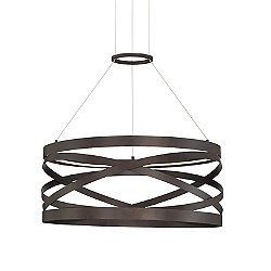 Tirreni LED Drum Pendant Light