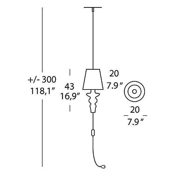 Gadora Pendant Light
