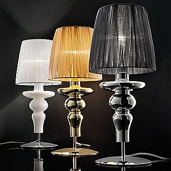 Shown in Chrome finish, Gold color