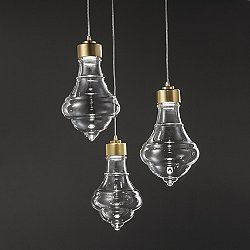 Trottola Small LED Multi Light Pendant Light