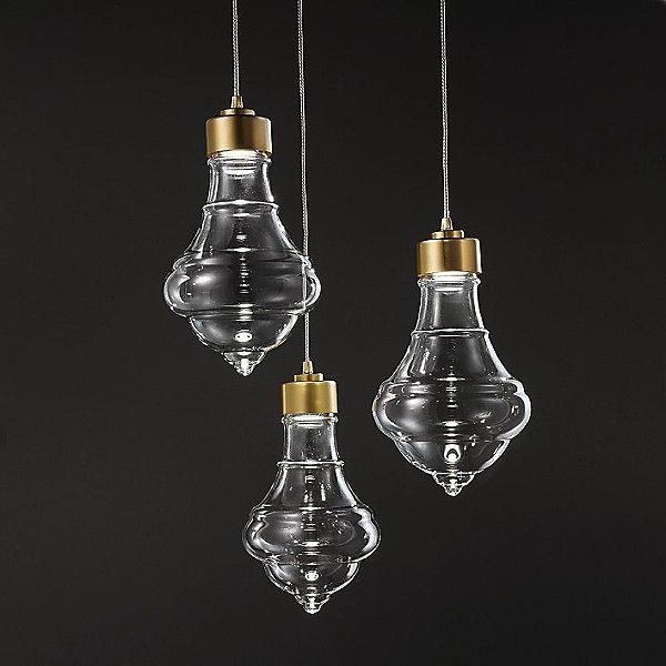 Trottola Small LED Multi Light Pendant Light