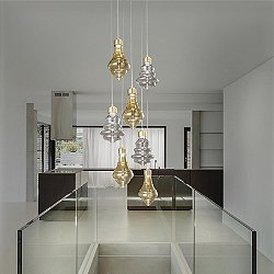 Trottola Mix LED Multi Light Pendant Light