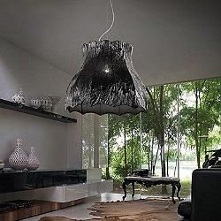 Vintage Pagoda Pendant Light