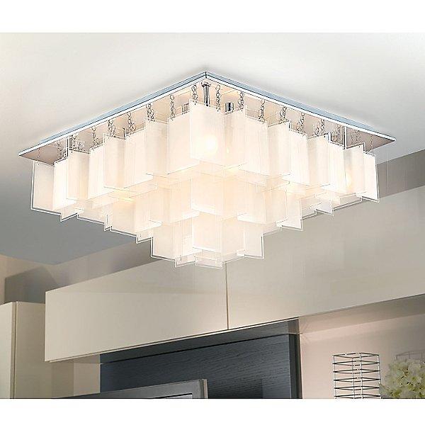 Aria Semi-Flush Mount Ceiling Light