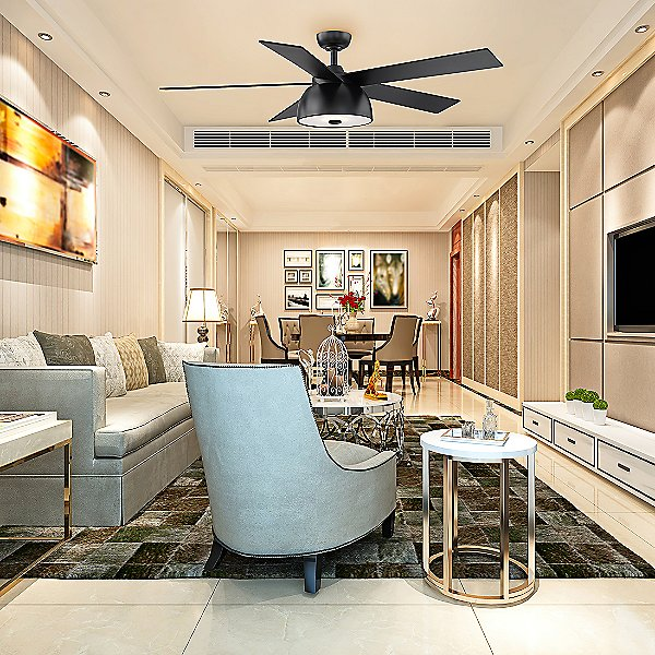 Soffio Ceiling Fan with Light