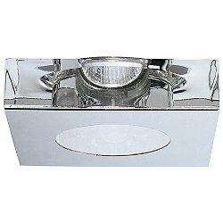Faretti Lui Steel Recessed Light (Non IC New/LED) - OPEN BOX