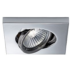 Venere-Low Square Recessed Lighting (Chrome/Re) - OPEN BOX