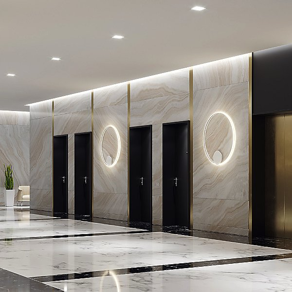 Olympic LED Wall/Ceiling Light
