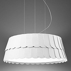 Modern drum shade pendant lighting ylighting roofer pendant light aloadofball Choice Image