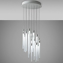 Tooby 30 Light Round Multispot Pendant