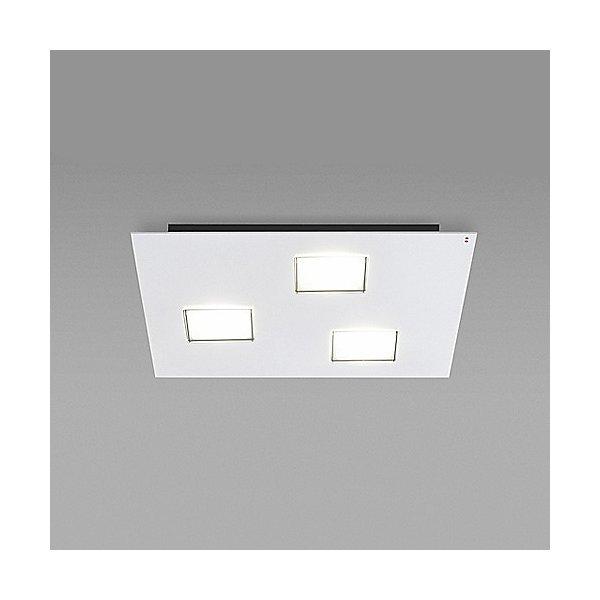 Quarter 3-Light LED Flush Mount Ceiling Light