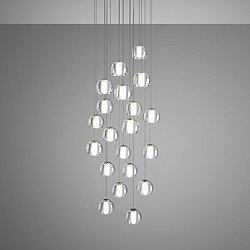 Beluga 20 Light Round Multispot Pendant