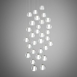 Beluga 30 Light Round Multispot Pendant