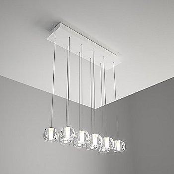 Beluga 10 Light Rectangular Multispot Pendant