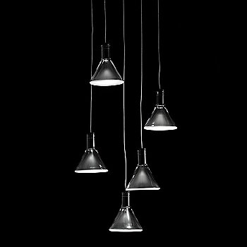 Polair 5 Light Round Multispot Pendant