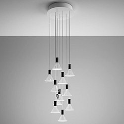 Polair Multispot 10-Light Round Pendant Light