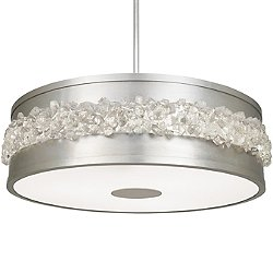 Arctic Halo Drum Chandelier