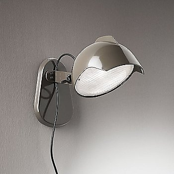Shown in Grey finish, wall mount application
