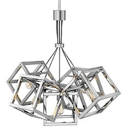 Ensemble Square Chandelier