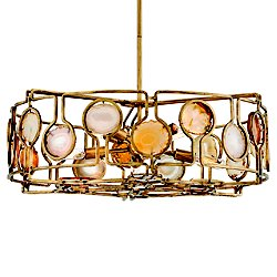 Lucia Drum Shade Pendant Light